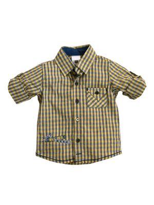 Рубашка для мальчика Bombili. Цвет: желтый