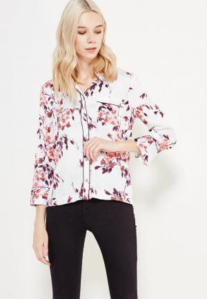 Блуза Marks & Spencer. Цвет: белый