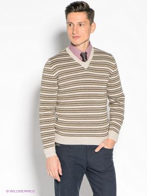Пуловер JB casual. Цвет: бежевый