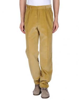 Повседневные брюки GERANI. Цвет: охра