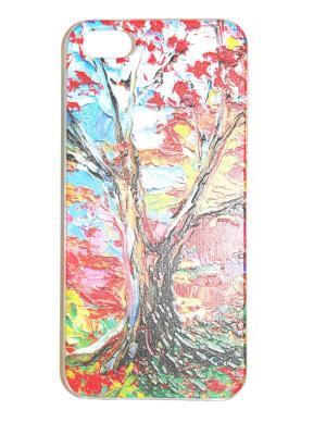 Чехол для Iphone 5/ 5S Punta. Цвет: красный, розовый, коричневый, голубой
