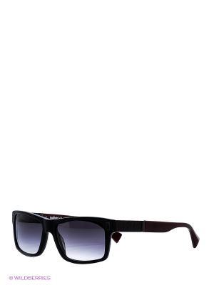 Очки солнцезащитные BLD 1521 102 Baldinini. Цвет: черный, бордовый
