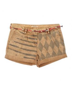 Джинсовые шорты SCOTCH R'BELLE. Цвет: песочный
