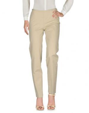 Повседневные брюки TER ET BANTINE. Цвет: бежевый