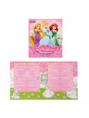 Набор для Дня Рождения, Принцессы Disney. Цвет: красный, розовый, фуксия