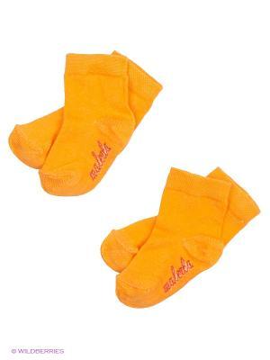 Носки Malerba. Цвет: оранжевый
