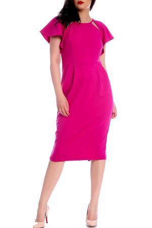 Платье Moda di Chiara. Цвет: pink