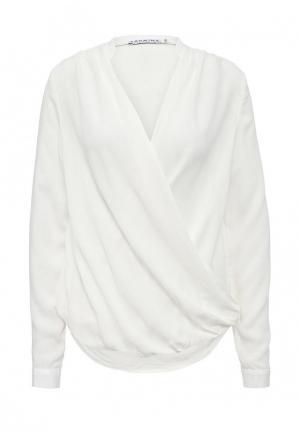 Блуза Yarmina. Цвет: белый