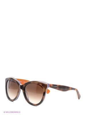 Очки солнцезащитные DOLCE & GABBANA. Цвет: темно-коричневый, бледно-розовый, антрацитовый