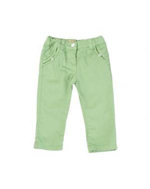 Повседневные брюки AMORE. Цвет: светло-зеленый