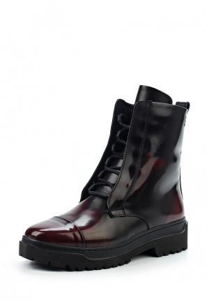 Ботинки Poblenou. Цвет: бордовый