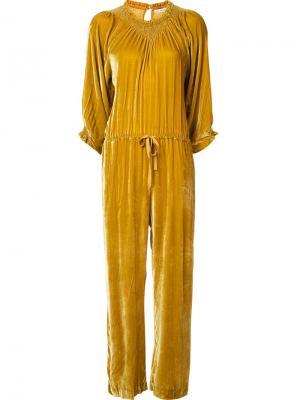 Sephare jumpsuit Ulla Johnson. Цвет: жёлтый и оранжевый
