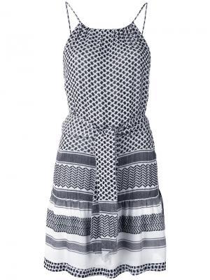 Strappy belted dress Cecilie Copenhagen. Цвет: чёрный