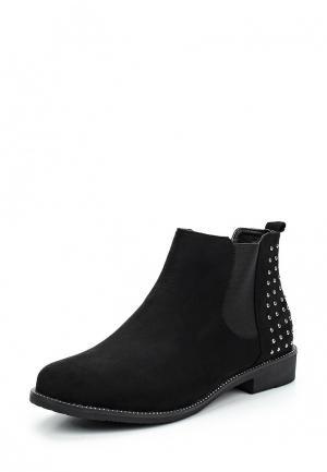 Ботинки WS Shoes. Цвет: черный