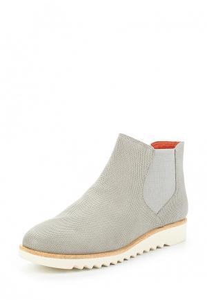 Ботинки Tamaris. Цвет: серый