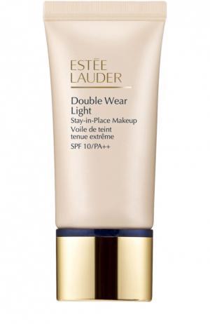Устойчивая крем-пудра Double Wear Light SPF 10 Intensity 3.0 Estée Lauder. Цвет: бесцветный
