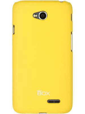 Lg L70 Dual skinBOX Shield  4People. Цвет: желтый