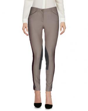 Повседневные брюки HERITAGE. Цвет: серый