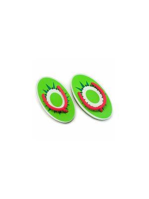 Сланцы Kiwi Kawaii Factory. Цвет: зеленый