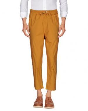 Повседневные брюки C.Y.H. CLAP YOUR HAND. Цвет: охра