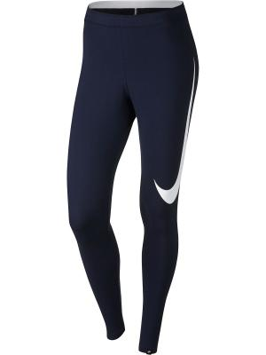 Леггинсы W NSW LGGNG CLUB SWSH Nike. Цвет: синий