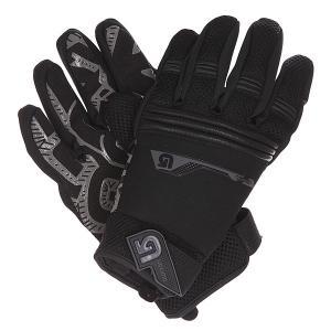 Перчатки  Pipe Glove True Black Burton. Цвет: черный