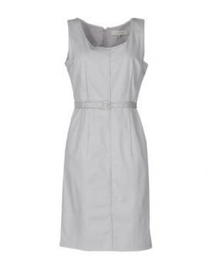 Платье до колена GERARD DAREL. Цвет: светло-серый