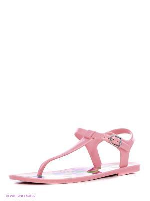 Сандалии Mon Ami. Цвет: розовый