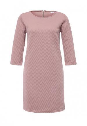 Платье Jacqueline de Yong. Цвет: розовый
