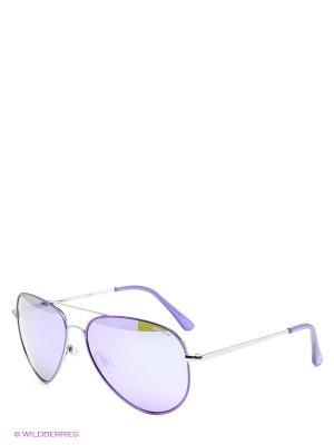 Солнцезащитные очки Polaroid. Цвет: фиолетовый, желтый