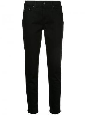 Свободные джинсы Ag Jeans. Цвет: чёрный