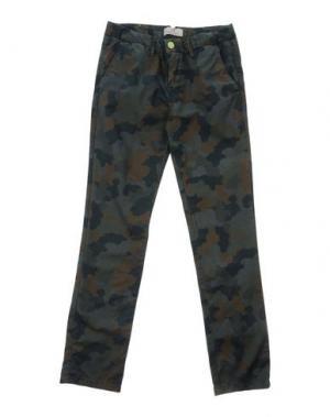 Повседневные брюки SCOTCH & SHRUNK. Цвет: зеленый-милитари