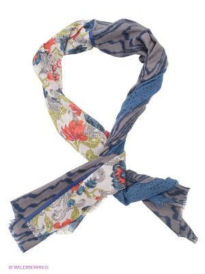 Платок Venera. Цвет: синий, серый
