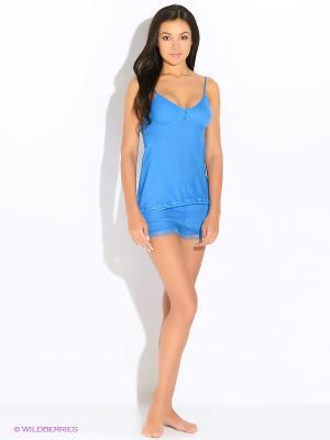 Комплект пижамный Deseo. Цвет: синий