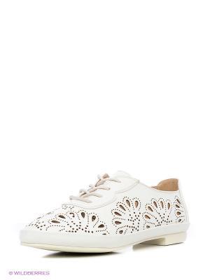 Ботинки Ridlstep. Цвет: белый