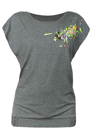 Блуза Feel JOY!. Цвет: серый