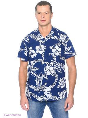 Рубашка Cropp. Цвет: темно-синий