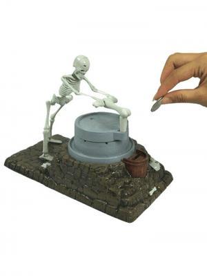 Копилка интерактивная Zombie Склад Уникальных Товаров. Цвет: белый