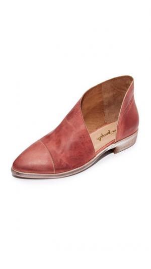 Обувь на плоской подошве Royale Free People. Цвет: красный