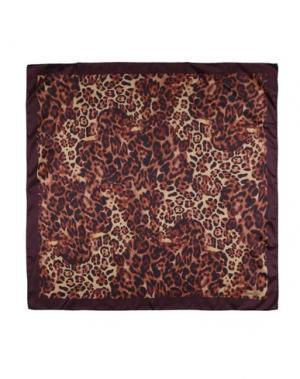 Платок MARINA D'ESTE. Цвет: темно-коричневый