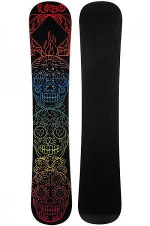 Сноуборд  Skulls Black/Multi Turbo-FB. Цвет: мультиколор,черный