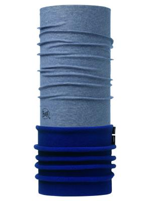 Бандана POLAR BLUE INK STRIPES Buff. Цвет: серо-голубой, темно-синий