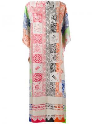 Patterned shift dress Pierre-Louis Mascia. Цвет: многоцветный