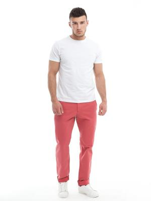 Брюки мужские RED POINT. Цвет: розовый