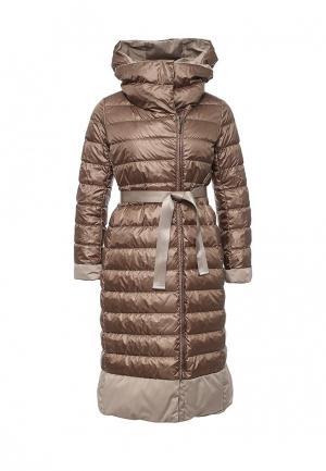 Куртка утепленная Weekend Max Mara. Цвет: разноцветный