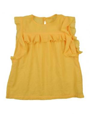 Блузка MORLEY. Цвет: желтый