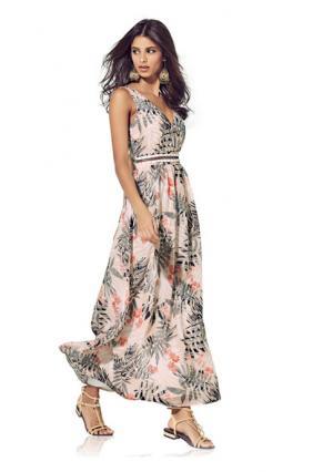 Платье макси B.C. BEST CONNECTIONS. Цвет: цветной