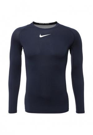 Лонгслив Nike. Цвет: синий