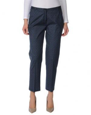 Повседневные брюки LAURA URBINATI. Цвет: зеленый-милитари