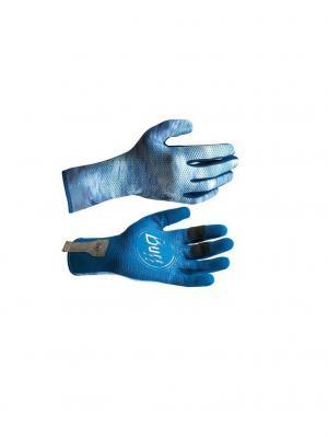 Перчатки рыболовные BUFF Sport Series MXS Gloves голубой. Цвет: голубой
